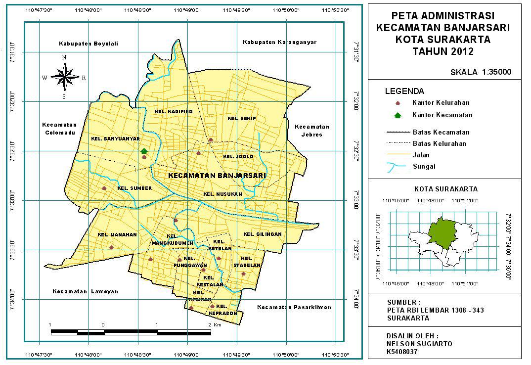Profil Kecamatan Banjarsari ~ PEMERINTAH KOTA SURAKARTA